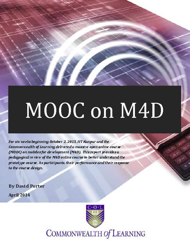 Cover image for MOOC on Mobiles for Development Report
