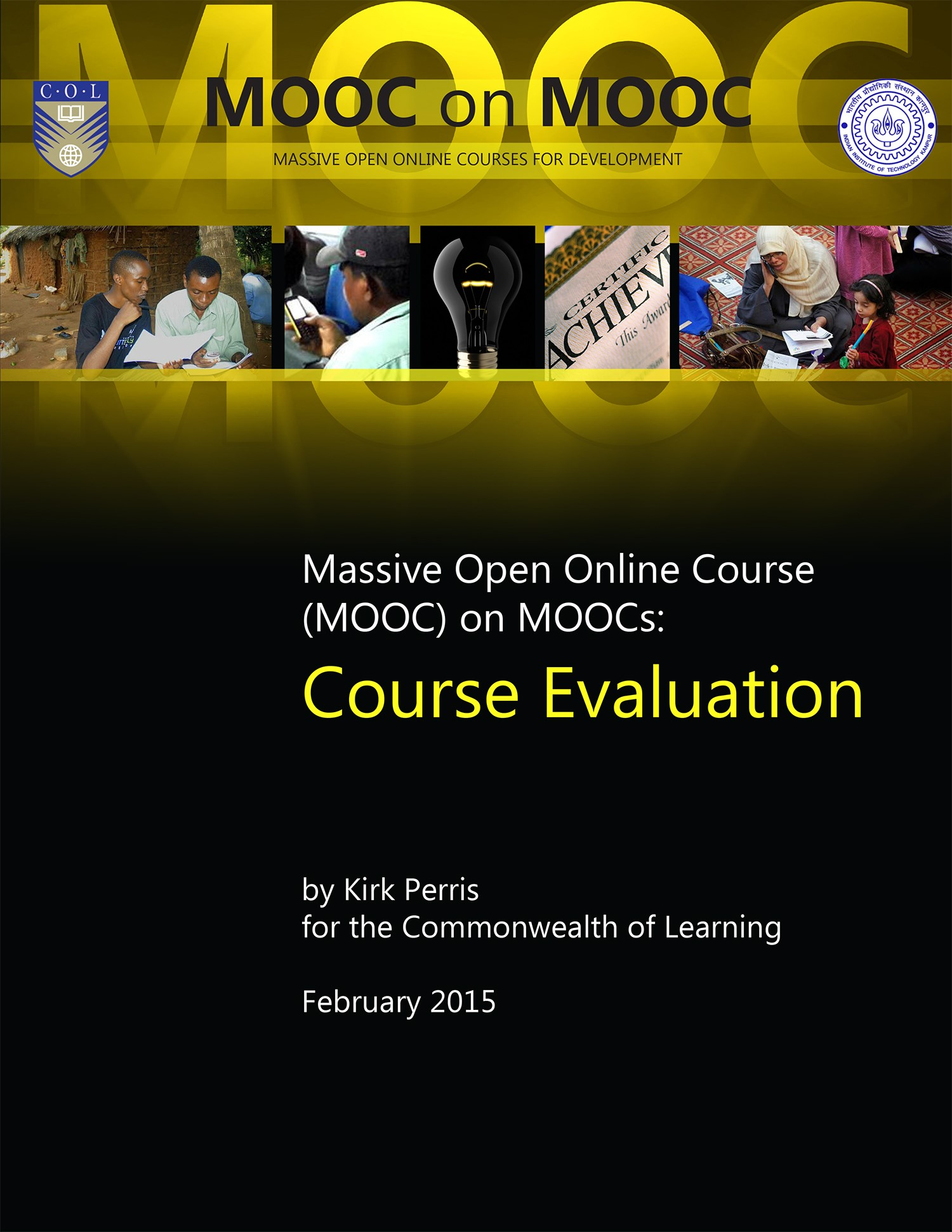 Cover image for Massive Open Online Course (MOOC) on MOOCs: Course Evaluation