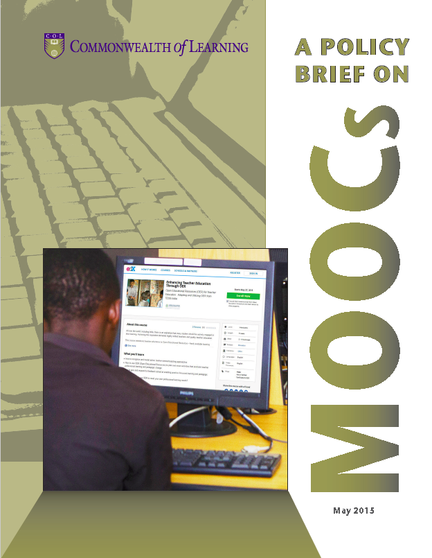 Cover image for A Policy Brief on MOOCs